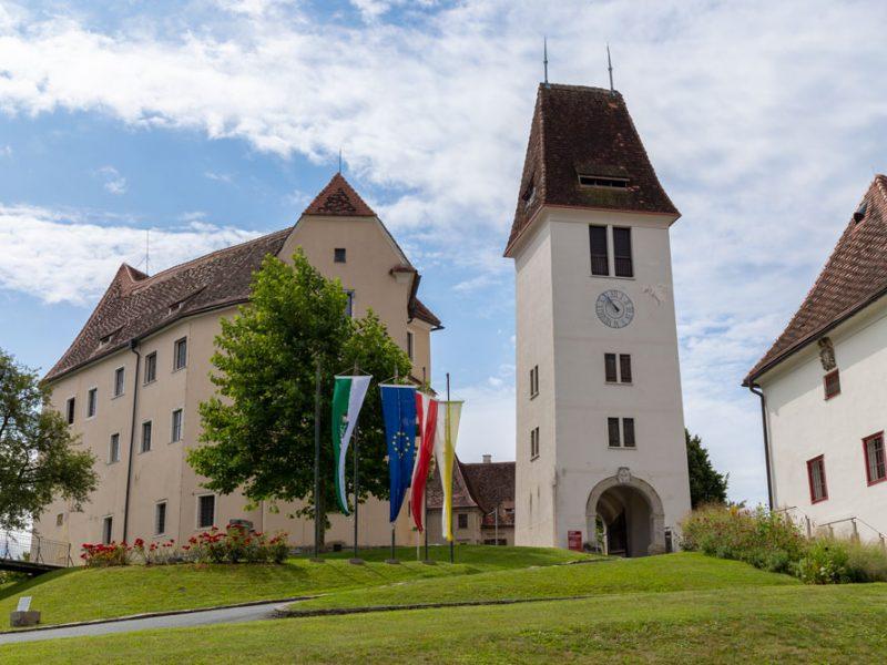 Schloss Seggau - Uhrturm