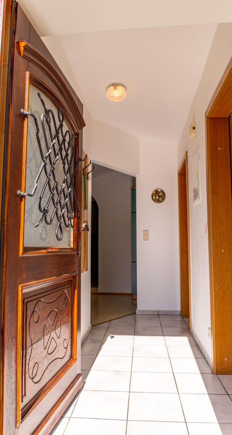 Eingangsbereich – Ferienwohnungen Moitz