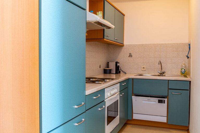 Küche – Ferienwohnungen Moitz